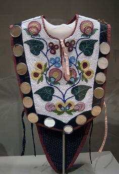 American Indian bead work