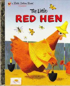 A Little Golden Book - The Little Red Hen (1954)