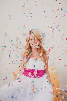 The Perfect Confetti Garland