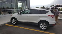 """LENARD, wishing you many """"Miles of Smiles"""" in your 2014 FORD ESCAPE!  All the best, Kunes Country Ford Lincoln of Delavan and Daniel Ranson."""