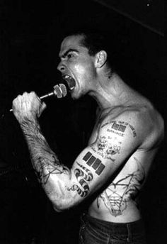 Henry Rollins of Black Flag