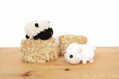 PATTERN: Lyla the Baby Lamb Amigurumi, Crocheted Sheep Pattern, Lambie Toy Tutorial, PDF Crochet Pattern – Amigurumi Free Pattern İdeas. Crochet Sheep, Crochet Gratis, Crochet Toys, Free Crochet, Crochet Ball, Amigurumi Free, Amigurumi Patterns, Crochet Patterns, Baby Lamb