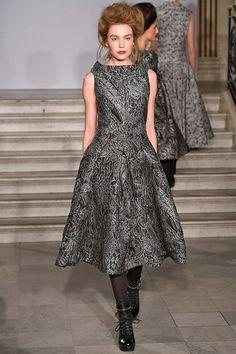 Paul Costelloe at London Fashion Week, autumn/winter 2015-16.