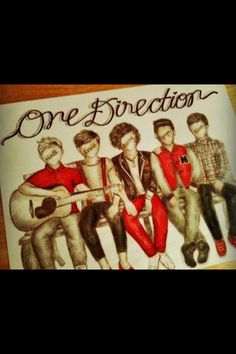 One Direction art!?wow this is amazing!!