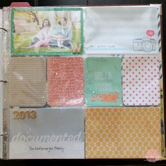 Start Project Life from the beginning with Sweet Rose Studio!