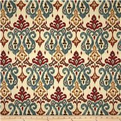 Swavelle/Millcreek Shantra Twill Red/Blue
