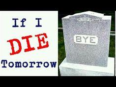 IF I DIE TOMORROW...   Cheap Laughs