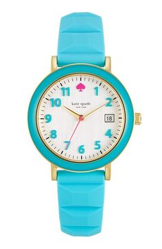 Kate Spade 'Metro' Watch. Lots of fun colors!