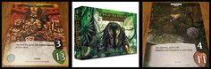 Legendary Encounters: Predator by Upper Deck is probably my favorite deck-building game. You can play as Humans to escape Predators (like the movies!)...