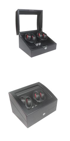 Watch Winder ,LT Wooden Automatic Rotation 4+6 Watch Winder Storage Case Display Box black colors