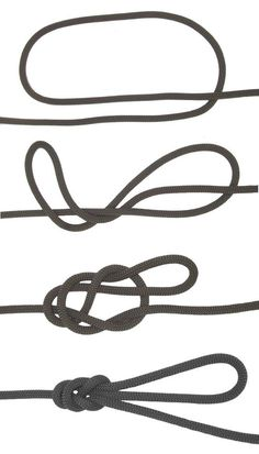 figure eight knot | 5 Knots Everyone Should Know | Essential Knots Knowledge For Survival, check it out at http://survivallife.com/5-knots-everyone-should-know/