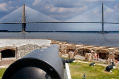 #LOVE My Facebook page: https://www.facebook.com/MrOgdenGeorge/  #GeorgeOgden Charleston, S.C. April 12th, 1861… the first shots were fired on Fort Sumter, and so began the American Civil War. Fort Sumter's significance in history is a benchmark. The site of the first shots fired in the American Civil War, Fort Sumter is a poignant part of our country's biography.