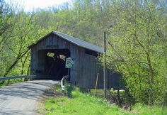 North Pole Covered Bridge located in Brown County, Ohio and was built in 1875.  Photo by tcpix, via Flickr