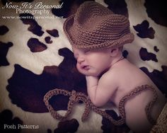 Crochet PATTERN Baby Fedora Little Man Hat Cowboy Hat PDF 204 - Newborn to Adult - Permission To Sell Finished Items - Photography Prop. $3.99, via Etsy.