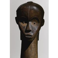 FANG RELIQUARY HEAD, GABON | LOT SOLD. £224,152 | Height 58.4 cm