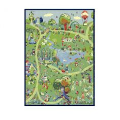 Детский  ковер PTT Sorona Creative Kids Фантазия