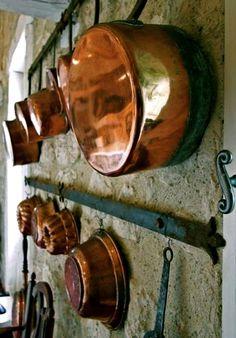 lovely old copperware