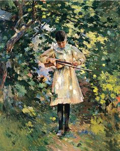 Margaret Perry, 1889, Theodore Robinson, (1852-1896).