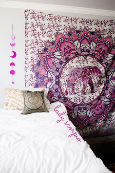 ☽ ✩ Save 25% off all orders with code PINTERESTXO at checkout | Bohemian Bedroom + Home Decor | Mandala Tapestries, Pillows & Wall Hanging Decor + Twilights by Lady Scorpio | Shop Now LadyScorpio101.com | @LadyScorpio101 | Photography by Luna Blue @Luna8lue