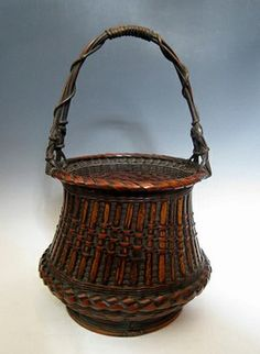 Japanese Baskets | Woven Bamboo for Ikebana
