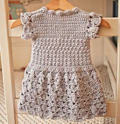 Now You Can Make Crochet Wrap Dress! New Pattern Available! - Mon Petit Violon - Page 3 of 31 - Free Crochet Patterns Baby Girl Crochet, Crochet Baby Clothes, Baby Patterns, Dress Patterns, Crochet Patterns, The Dress, Baby Dress, Knit Dress, Wrap Dress