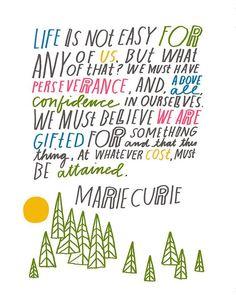 6 Inspiring Quotes From BADA$$ Female Scientist Marie Curie