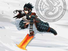 Monster Hunter - Fire on Ice by polarityplus.deviantart.com on @deviantART
