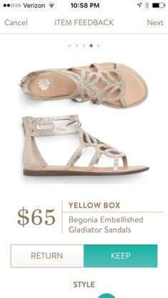 Dear Stitch Fix Stylist - love the combo of bling and gladiator style. I can see myself wearing these all the time! Cute Sandals, Cute Shoes, Me Too Shoes, Bling Sandals, Sparkly Sandals, Silver Sandals, Stitch Fit, Stitch Fix Fall, Stitch Fix Outfits