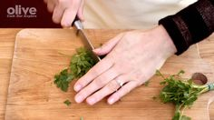 How to: chop parsley