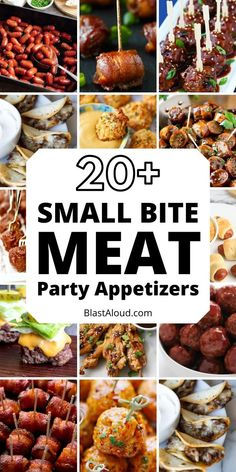 22 Meat appetizers that are perfect for your next party. Easy party snacks that make the best finger food to feed a crowd! Meat Appetizers, Appetizers For Party, Appetizer Recipes, Party Food Platters, Snacks Für Party, Party Party, Party Ideas, Christmas Appetizers, Appetisers