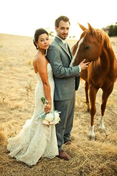 equestrian wedding loveliness