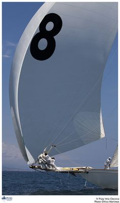 IV PUIG CLASSICA by PUIG VELA CLASSICA, via Flickr #sailing #spinnaker