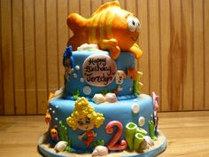 Bubble Guppie cake by Missy @ CakesDecor.com