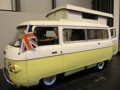 classic motorshow 2012 COMMER CAMPERVAN by dav_min, via Flickr