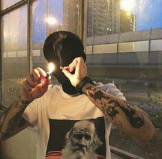 ̶p̶̶h̶̶i̶̶l̶ y/o) (natural trash / useless / emo c Bad Boy Aesthetic, Aesthetic Images, Aesthetic Grunge, Badass Aesthetic, Aesthetic Art, Weed Girls, Gangsta Girl, Youth Culture, Pretty Boys