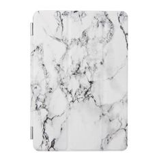 Marble texture iPad mini cover