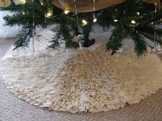 Gingham tree skirt etsy
