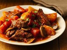 Slow Cooker Fire Roasted Tomato Pot Roast