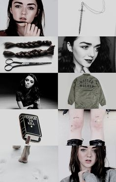 game of thrones // a song of ice and fire » modern au arya stark & gendry waters