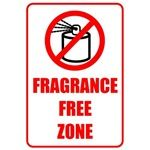 Fragrance Free Zone Design