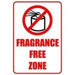 Fragrance Free Zone Design