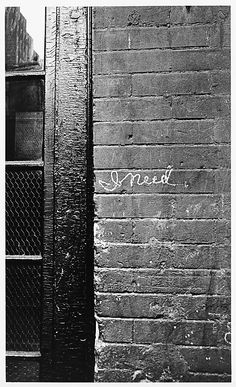 I Need, New York by William Klein