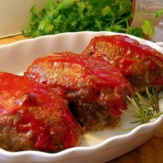 Ina Garten's Individual Meat Loaves