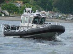 Mercer Island Police Department (WA) Marine Patrol #boat #police #setcom