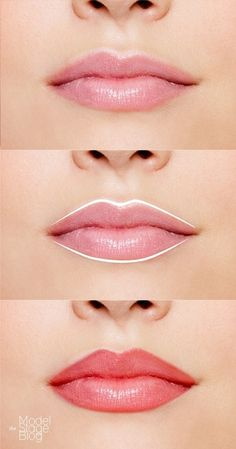 dunne lippen voller laten lijken
