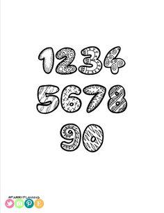 Printable Doodle Alphabet