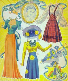 Dolls you love to dress 1949 - Bobe Green - Picasa Web Albums