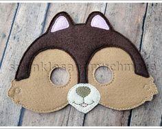 Máscara de zorro máscaras de criaturas del por TheMaskedMenagerie