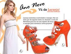 Saiba o significado das cores para 2014 - Laranja  http://blogdesapato.wordpress.com/2013/12/07/significado-das-cores-para-o-ano-novo-laranja/