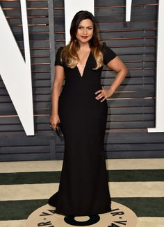 5bdfb205d0931 Mindy Kaling. See what all the stars wore to the Academy Awards  biggest  after